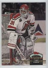 1992-93 Topps Stadium Club #74 Chris Terreri New Jersey Devils Hockey Card