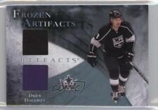2010-11 Upper Deck Artifacts Frozen Jersey Blue Jersey/Patch #FA-DD Drew Doughty