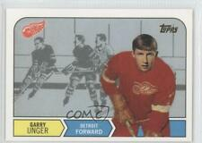 2002-03 Topps Rookie Reprints #13 Garry Unger Detroit Red Wings Hockey Card