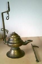 ANTIQUE - MIDDLE EASTERN - INCENSE BURNER - HAND MADE - BRASS -  Circa 1900s