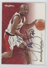 1996-97 Skybox Premium Autographics Black Ink Autographed #KESM Kenny Smith Auto