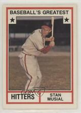 1982 TCMA Baseball's Greatest Hitters White Back #1982-2 Stan Musial Card