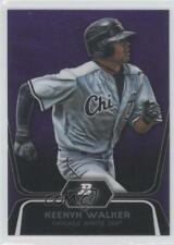 2012 Bowman Platinum Prospects Retail Purple Refractor #BPP37 Keenyn Walker Card