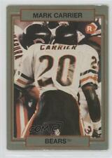 1990 Action Packed Rookie Update #30 Mark A Carrier Chicago Bears A. Card