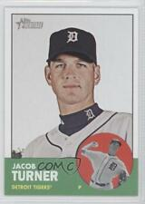 2012 Topps Heritage #257 Jacob Turner Detroit Tigers Baseball Card
