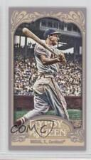 2012 Topps Gypsy Queen Mini Back #249 Stan Musial St. Louis Cardinals Card