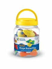 Learning Resources Snap-n-Learn Shape Butterflies NO TAX