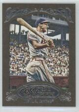 2012 Topps Gypsy Queen Retail Gold #249 Stan Musial St. Louis Cardinals Card