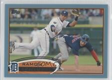 2012 Topps Wal-Mart Blue Border #445 Ramon Santiago Detroit Tigers Baseball Card