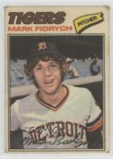 1977 Topps Baseball Patches Cloth Stickers #15 Mark Fidrych Detroit Tigers Card