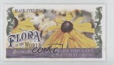 2011 Topps Allen & Ginter's Flora of the World Minis FOW-1 Black-Eyed Susan Card