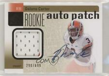 2011 SP Authentic #234 Delone Carter Syracuse Orangemen Auto RC Football Card