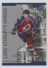 1998-99 Upper Deck Lord Stanley's Heroes #LS12 Peter Forsberg Colorado Avalanche