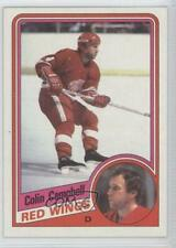 1984-85 Topps #39 Colin Campbell Detroit Red Wings Hockey Card