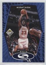 1998 Upper Deck UD Choice Starquest Blue #SQ30 Michael Jordan Chicago Bulls Card