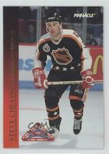 1993 Pinnacle All-Stars Canadian 23 Steve Chiasson Detroit Red Wings Hockey Card