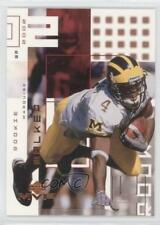 2002 Upper Deck MVP 268 Marquise Walker Tampa Bay Buccaneers Michigan Wolverines
