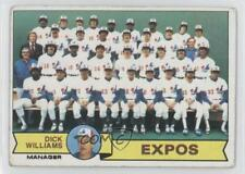 1979 Topps #606 Dick Williams Montreal Expos Team Baseball Card