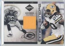 2011 Panini Limited Initial Steps Materials Jerseys #13 Alex Green Bay Packers