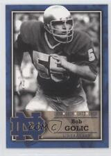 2003 2003-07 TK Legacy Notre Dame #M6 Bob Golic Fighting Irish Football Card