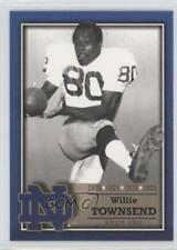 2003 2003-07 TK Legacy Notre Dame M19 Willie Townsend Fighting Irish Rookie Card