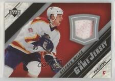 2005-06 Upper Deck UD Game Jersey Series 2 #J2-SW Stephen Weiss Florida Panthers