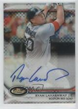 2012 Topps Finest Autographed Rookies X-Fractor #AR-RL Ryan Lavarnway Auto Card