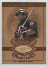 2001 SP Game Bat Edition Milestone #B-MP Mike Piazza New York Mets Baseball Card