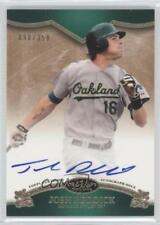 2012 Topps Tier One On the Rise Autograph Autographed #OR-JR Josh Reddick Auto