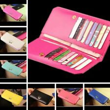 Women Long Leather Bowknot Fashion Wallet Purse Card Holder Handbag Clutch Case