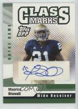 2006 Topps Draft Picks and Prospects (DPP) #CM-MS Maurice Stovall Auto Card