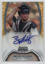 2011 Bowman Sterling #BSP-BHO Bryan Holaday Detroit Tigers Auto Baseball Card
