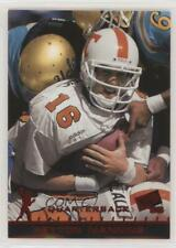 1998 Press Pass #1 Peyton Manning Tennessee Volunteers Rookie Football Card