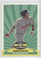 2012 Topps Heritage Minor League Edition Prospect Performers #PPAH Aaron Hicks