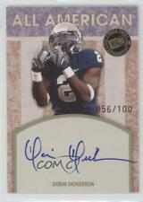 2010 Press Pass All American Autographs AA-DD Dorin Dickerson Auto Football Card