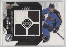 2008-09 Upper Deck Black Diamond Quad Jerseys #BDJ-RE Mark Recchi Hockey Card