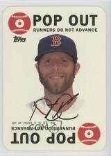 2015 Topps Archives 1968 Game Inserts #14 Dustin Pedroia Boston Red Sox Card