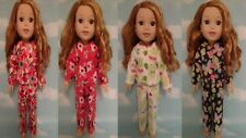"""Pajamas For American Girl 14.5"""" Wellie Wishers Wisher Doll Clothes 254-55"""