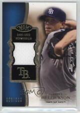 2012 Topps Tier One Top Shelf Relics #TSR-JHE Jeremy Hellickson Tampa Bay Rays