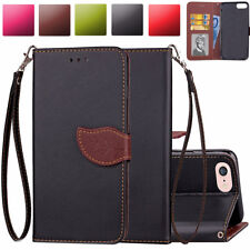 Magnetic Folio Leather Card Wallet Case Cover For Apple iPod Touch 5th 6th Gen