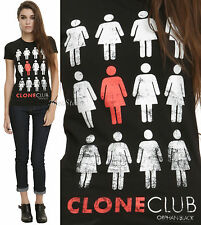 BBC Orphan Black Clone Club fitted tee T-shirt Hot Topic Exclusive JRS. S-XL NEW