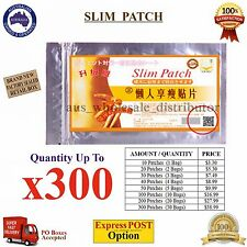 Slim Slimming Weight Loss Patches Burn Fat Body Belly Wraps Trim PadDetox Sheet