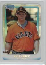 2011 Bowman Draft Picks & Prospects Chrome Refractor #BDPP24 Kyle Crick Card