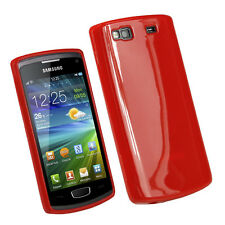 Case Cover Silicone Gel Flexible Samsung Wave 3 S8600