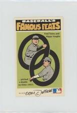 1973 Fleer Real Cloth Baseball Patches #14 Hippo Vaughn Fred Toney Chicago Cubs