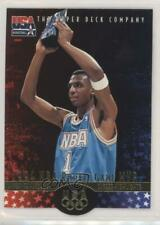 1996-97 Upper Deck USA Basketball Deluxe Gold Edition #1 Anfernee Hardaway Card