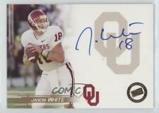 2005 Press Pass Autographs Bronze #JAWH Jason White Oklahoma Sooners Auto Card