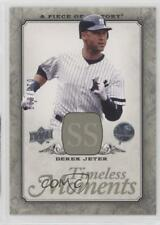 2008 Upper Deck A Piece of History Timeless Moments #TM-35 Derek Jeter Card
