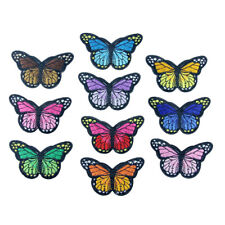 Cute Butterfly Embroidered Iron On / Sew On Patches Badges Transfers Bag Patches