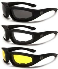 NEW BLACK CHOPPERS GOGGLES SUNGLASSES MENS LADIES BIKERS MOTORCYCLE (TWIN PACK)